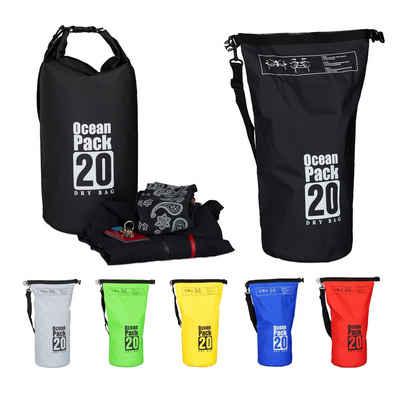 relaxdays Packsack »Ocean Pack 20L wasserdicht«