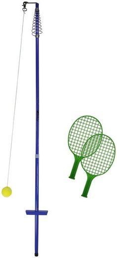 Tennisschläger »64012 Circletennis - Twistball - blau« (Set, 5-tlg), mit Stange und Ball