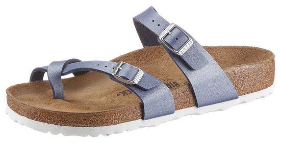 Birkenstock »MAYARI AZURE« Pantolette mit ergonomisch geformtem Fußbett