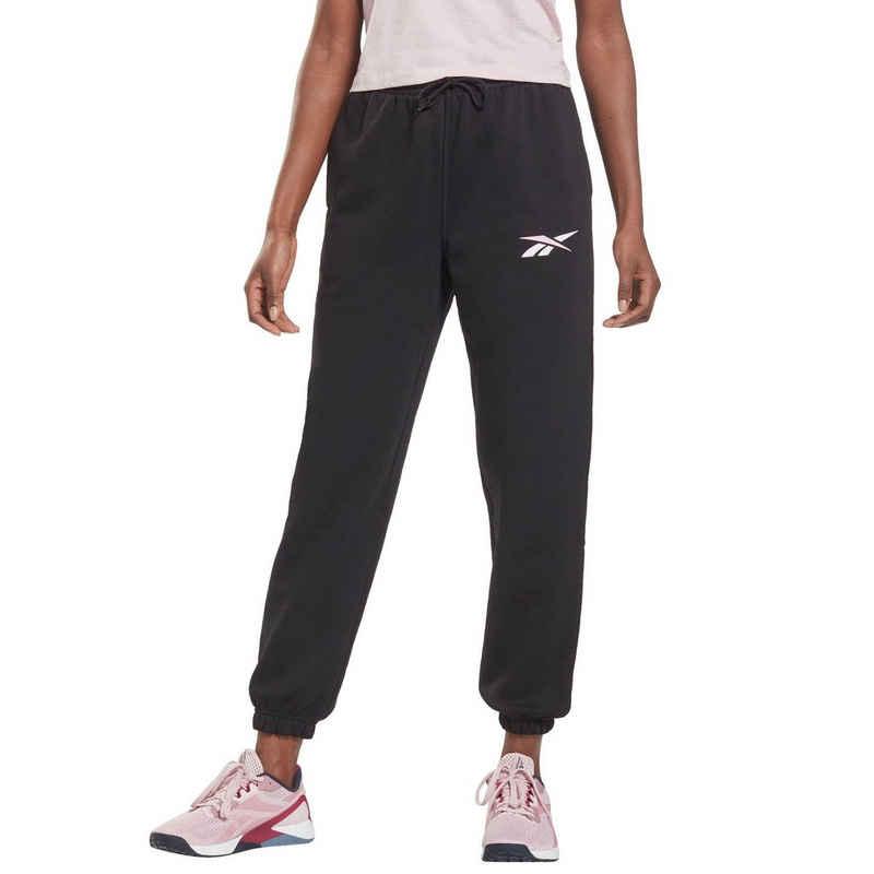 Reebok Jogginghose »TRAINING ESSENTIALS VECTOR FLEECE PANTS«