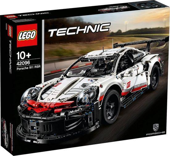 LEGO® Konstruktions-Spielset »LEGO 42096 Technic: Porsche 911 RSR«