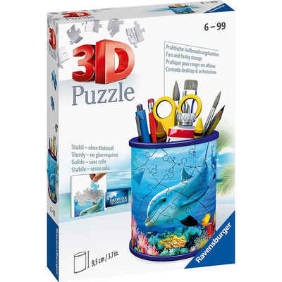 Ravensburger 3D-Puzzle »3D-Puzzle Utensilo Unterwasserwelt, 54 Teile«, Puzzleteile