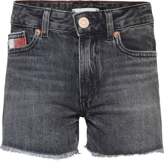 TOMMY HILFIGER Jeansshorts »HARPER SHORT« mit Fransensaum