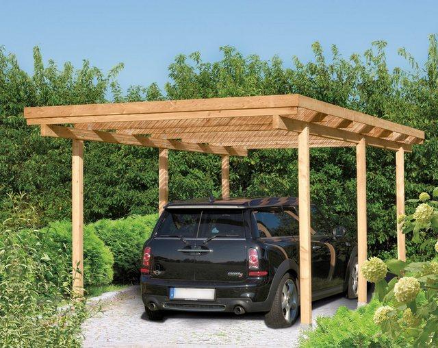 Kiehn-Holz Einzelcarport »Bamberg«  BxT: 304 x 510 cm   Baumarkt > Garagen und Carports   Kiehn-Holz