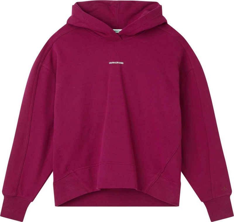 Calvin Klein Jeans Kapuzensweatshirt »MICRO BRANDING HOODIE« mit Calvin Klein Jeans Micro Logo-Schriftzug