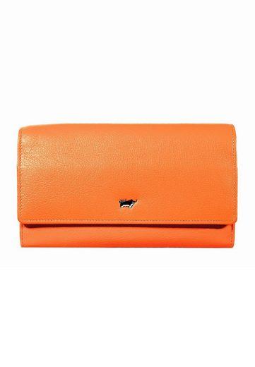 Braun Büffel Brieftasche »MIAMI«, aus softem Rindleder