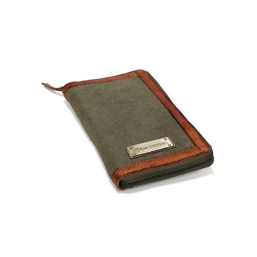 DRAKENSBERG Geldbörse »Travel Wallet«, aus Canvas und Leder