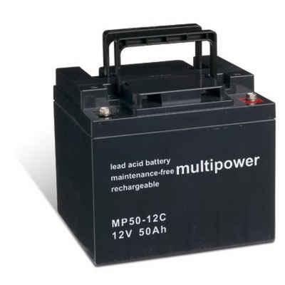 Powery Elektromobil-Akku 50000 mAh (12 V)