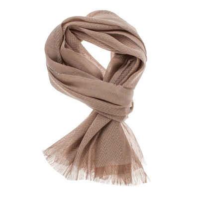 Gant Modeschal »9920073« Unisex Schal Tuch Cotton Linen Texture Scarf