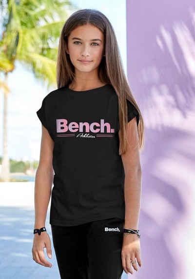 Bench. T-Shirt legeres Logoshirt