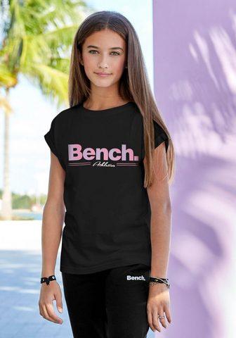Bench. Marškinėliai legeres Logoshirt