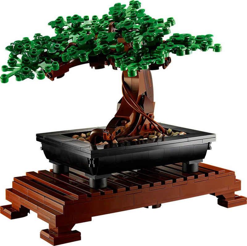 LEGO® Konstruktionsspielsteine »Bonsai Baum (10281), LEGO® Creator Expert«, (878 St), Made in Europe