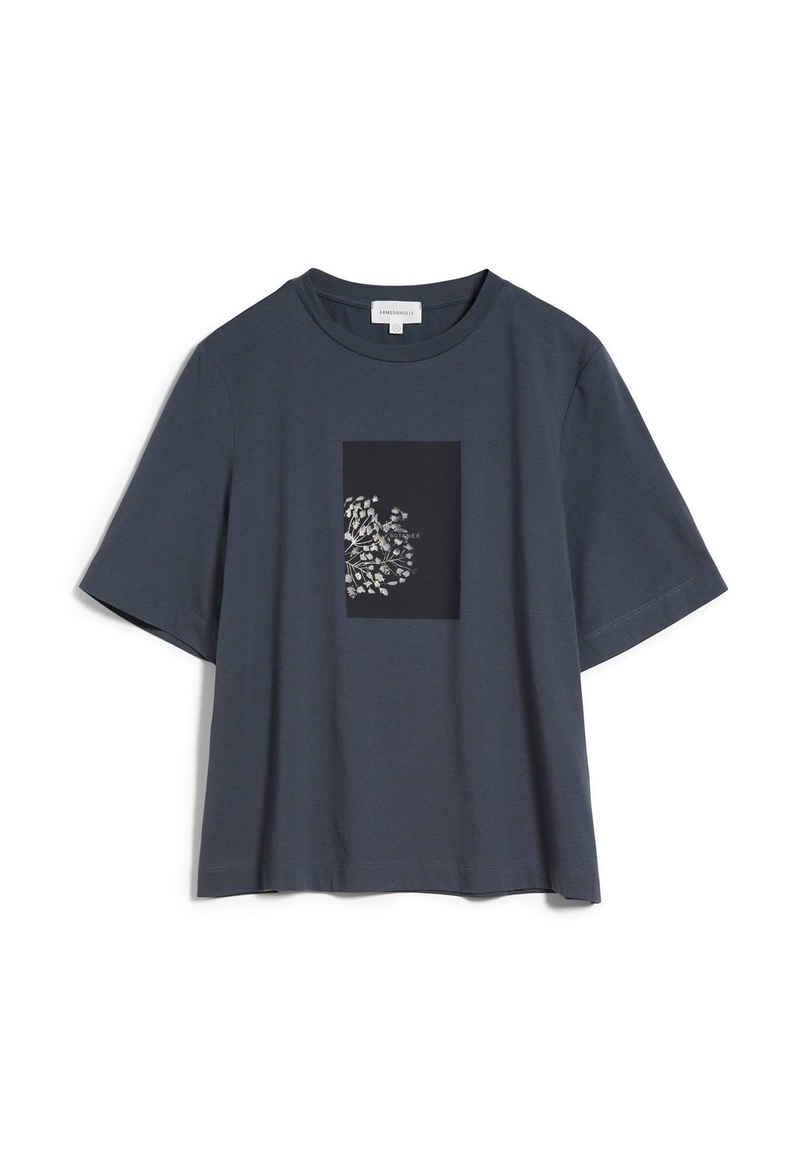 Armedangels T-Shirt »LAYAA BOTANEE Damen T-Shirt aus Bio-Baumwolle« (1-tlg)