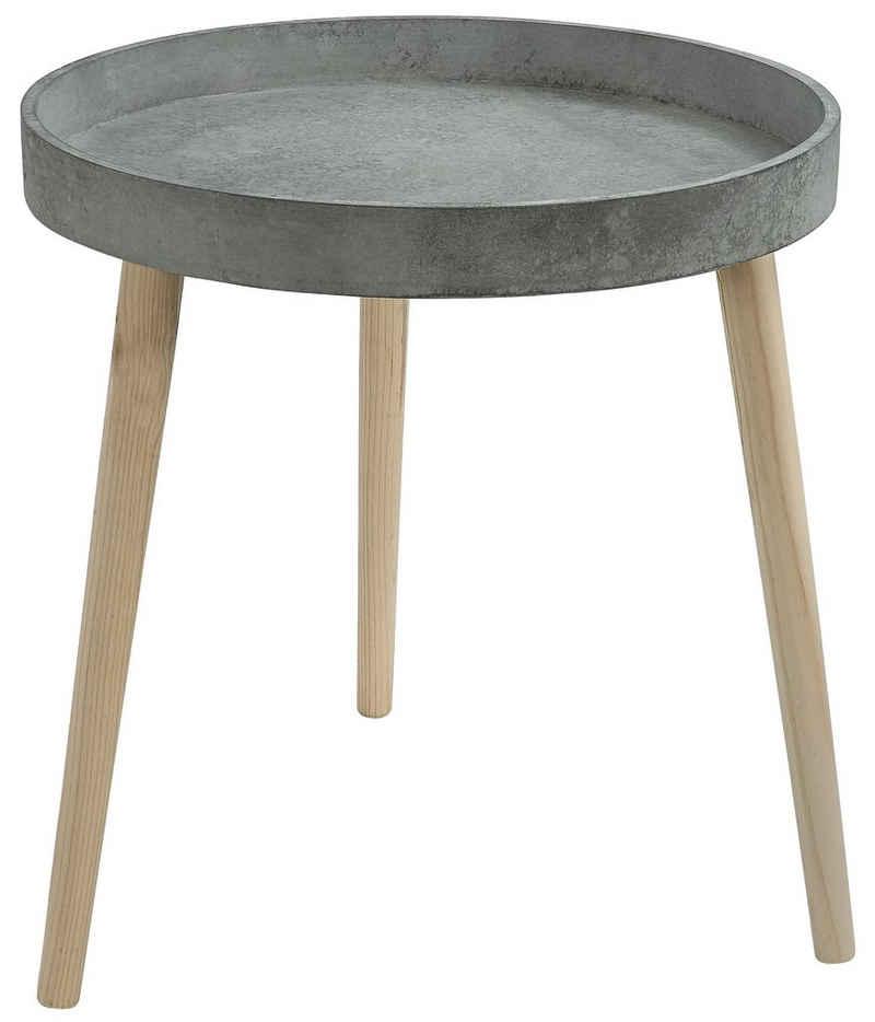 Dehner Beistelltisch »Beistelltisch Coby, Ø 45 cm, Höhe 48 cm, Holz«