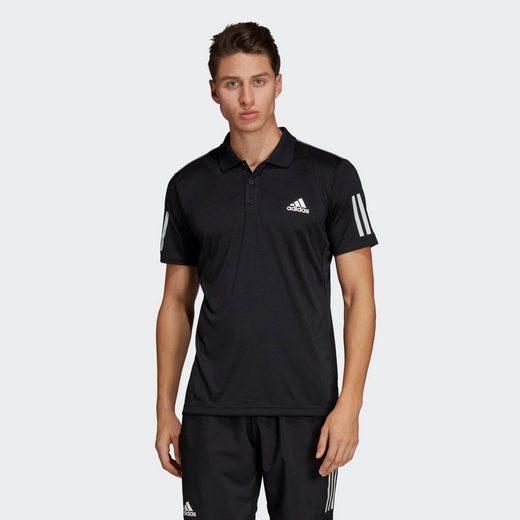 adidas Performance Poloshirt »3-Streifen Club Poloshirt«