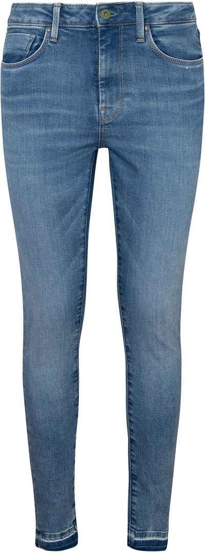 Pepe Jeans Röhrenjeans »REGENT« im 5-Pocket-Stil mit hoher Leibhöhe