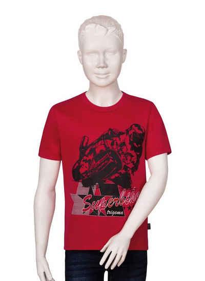 Trigema T-Shirt mit Motorrad-Motiv