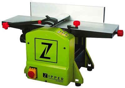 ZIPPER Abricht- und Dickenhobelmaschine »ZI-HB204«, 1250 in W, Hobelbreite: 204 in mm