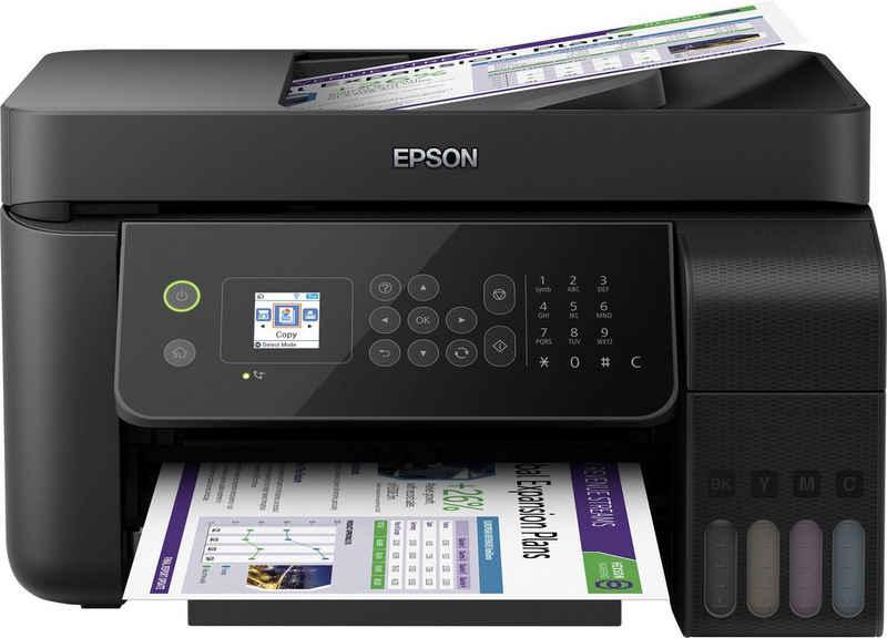 Epson EcoTank ET-4700 Multifunktionsdrucker, (LAN (Ethernet), WLAN (Wi-Fi)