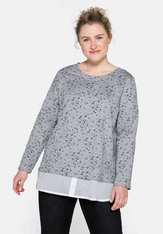 Sheego Sportinio stiliaus megztinis su Blusen...