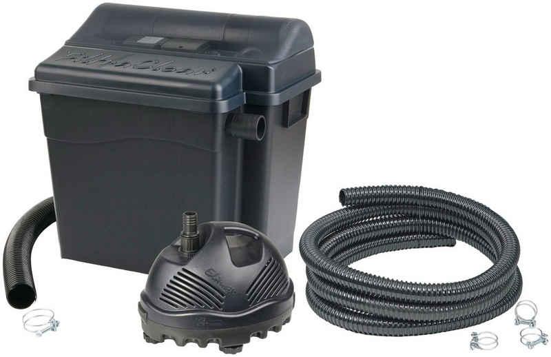 Ubbink Teichfilter »FiltraClear 2500 PlusSet« (Set), mit UVC-Klärer, für Teiche bis: 2.500 l/h