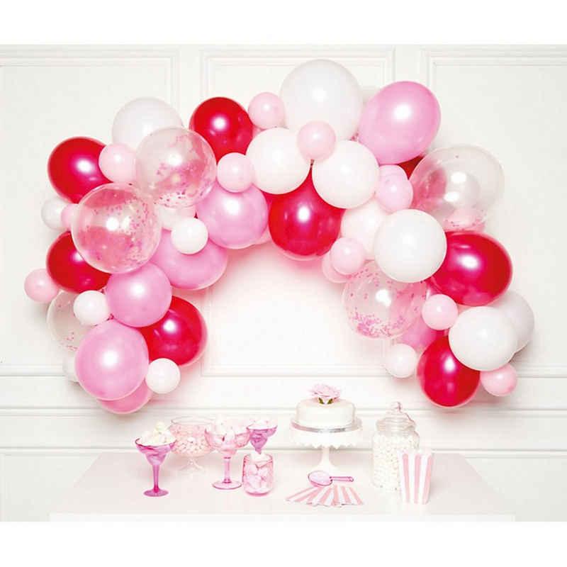 Amscan Girlande »DIY Ballongirlande Pink, 70 Ballons«