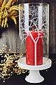 Sendez Windlicht »Windlicht Glaszylinder mit Porzellanteller Kerzenhalter Tischdeko Kerzenständer Laterne«, Bild 5