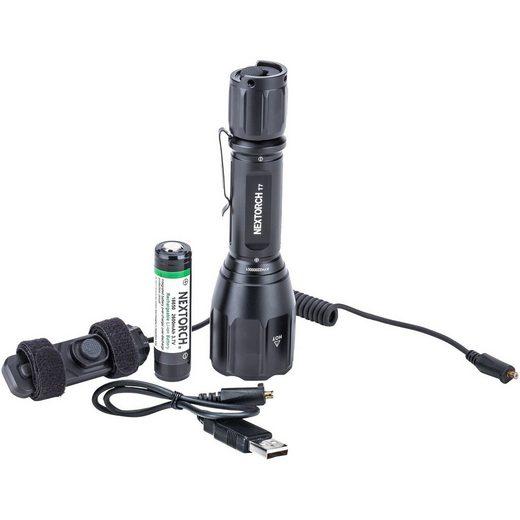 Nextorch Taschenlampe »Lampe T7 Set Akku«