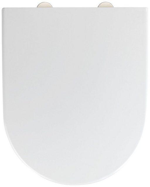 WCs und Zubehör - WENKO WC Sitz »Exclusive Nr. 4« (1 St), aus Duroplast, mit Absenkautomatik  - Onlineshop OTTO