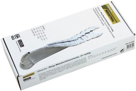 PROXXON Maulschlüsselsatz »Ring-Maulschlüsselsatz, 6 - 32 mm«, (21-tlg.)