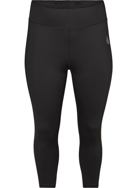 Hosen - Active by ZIZZI Trainingstights Große Größen Damen 3 4 Stretch Einfarbig ›  - Onlineshop OTTO