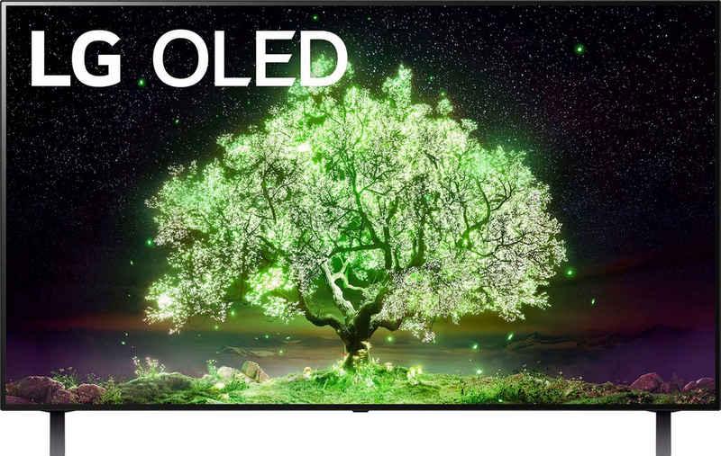 LG OLED48A19LA OLED-Fernseher (121 cm/48 Zoll, 4K Ultra HD, Smart-TV, (bis zu 60Hz), α7 Gen4 4K AI-Prozessor, Sprachassistenten, Dolby Vision IQ™, Dolby Atmos)