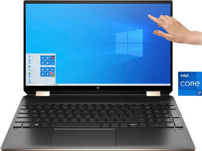 HP Spectre x360 15-eb1079ng Convertible Notebook (39,6 cm/15,6 Zoll, Intel Core i7, Iris© Xe Graphics, 2000 GB SSD)