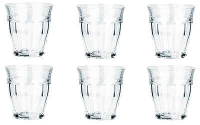 Duralex Gläser-Set »6−tlg Picardie Trinkgläser Wassergläser Weingläser französisch 160ml klein«, Glas