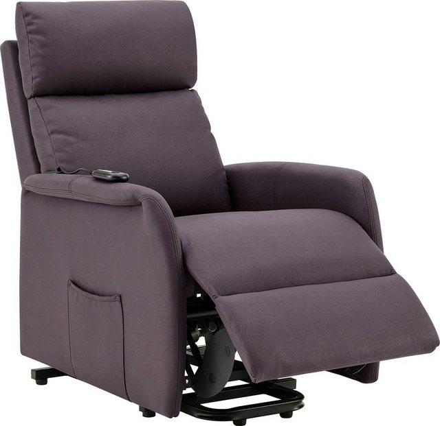 DELAVITA Relaxsessel »Berit«, mit einer praktischen elektrischen Relaxfunkt günstig online kaufen
