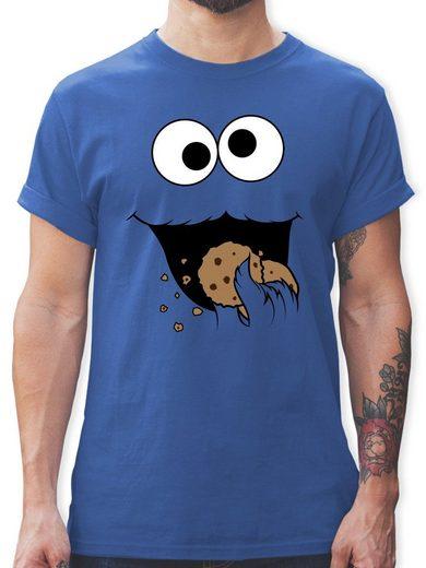 Shirtracer T-Shirt »Keks-Monster - Herren Premium T-Shirt«
