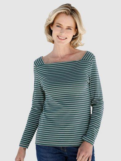 Dress In Shirt in Streifenoptik