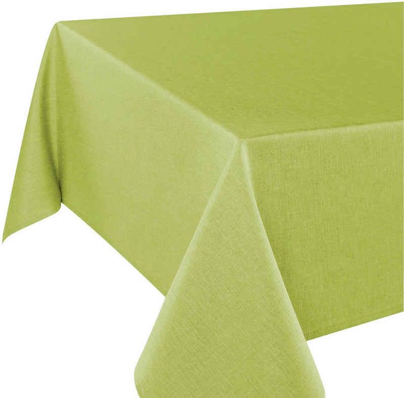 Delindo Lifestyle Tischdecke »WIEN« (1-tlg), Fleckabweisend, pflegeleicht, 180 g/m²