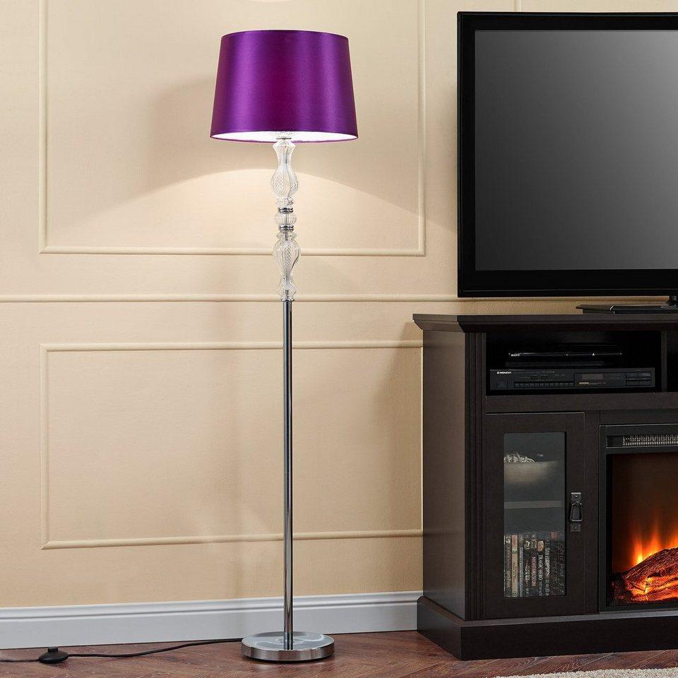 Lux Pro Stehlampe 1 Flammig Moderne Stehleuchte Purplelight