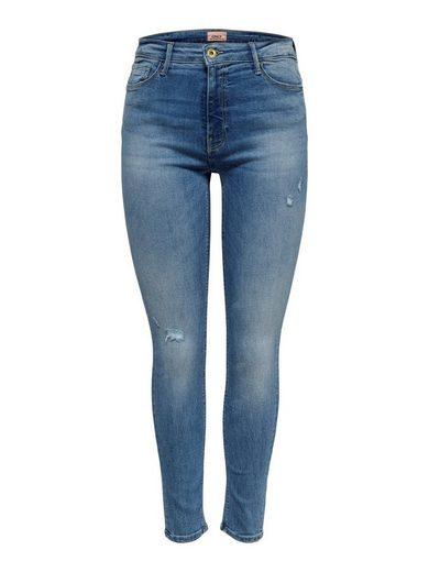 Only Skinny-fit-Jeans »PAOLA« Jeanshose mit Stretch