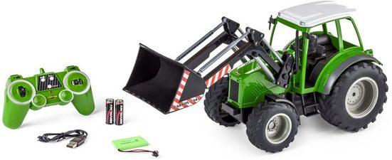 CARSON RC-Traktor »Traktor mit Frontlader, 1:16«
