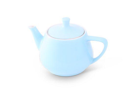 Friesland Porzellan Teekanne »Friesland Teekanne 0,85l Pastellblau Utah Teapot P«, 0,85 l, Made in Germany