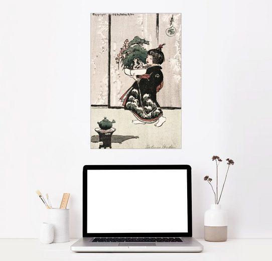 Posterlounge Wandbild, Drei Freunde des Winters