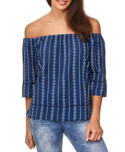 JACQUELINE de YONG Shirtbluse »2388« Damen T-Shirt MARINA