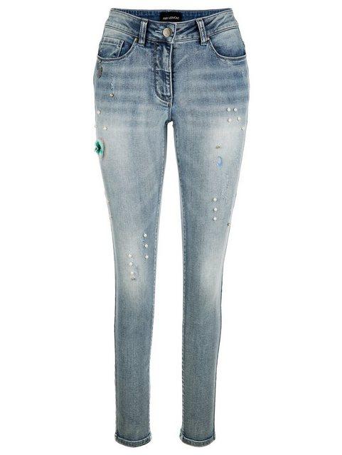 Hosen - Amy Vermont 5 Pocket Jeans mit dekorativen Details ›  - Onlineshop OTTO