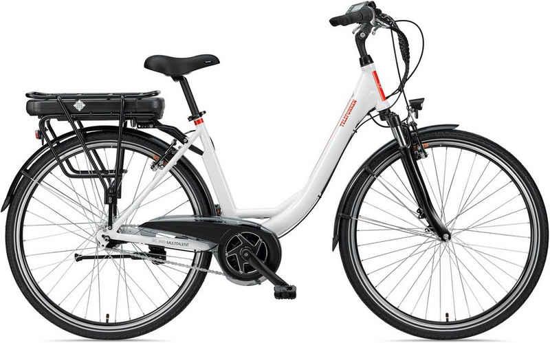 Telefunken E-Bike »Multitalent RC890«, 7 Gang Shimano Nexus Schaltwerk, Mittelmotor 250 W