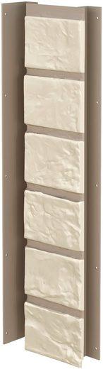 BAUKULIT Verblender »Solid Brick Conventry Innenecke«, Klinkerstruktur, 4er-Set