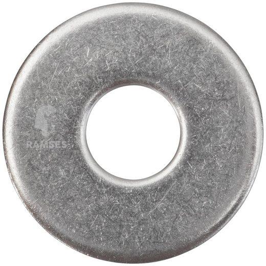 RAMSES Unterlegscheibe , DIN 9021 M16 Edelstahl A2 20 Stück