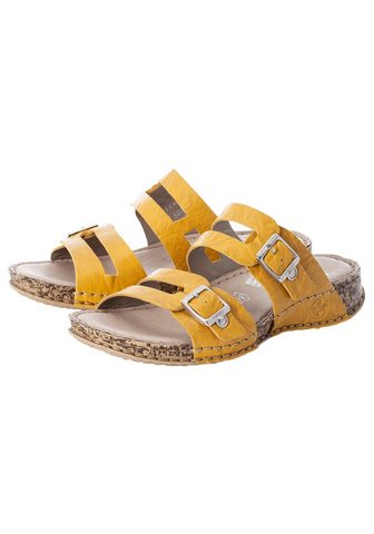 Rieker Pantolette in madingas Trendfarbe
