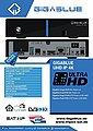 Gigablue »GigaBlue IPBOX UHD IP 4K Ultra E2 IPTV Multiroom« Satellitenreceiver, Bild 4
